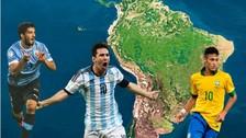 Lionel Messi, Neymar y los 10 futbolistas más caros de Sudamérica