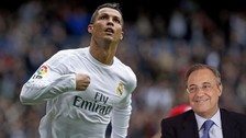 Cristiano Ronaldo y su mensaje a Florentino Pérez tras ganar la Eurocopa