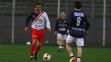 Alianza Perú 82' 1 – 0 Estrellas de América: César Cueto salió aplaudido del campo