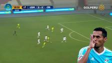 VIDEO: Carlos Lobatón anotó un golazo en el Sporting Cristal vs. San Martín