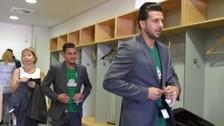 Claudio Pizarro participó en la presentación del Werder Bremen