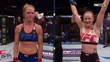 UFC: Valentina Shevchenko derrotó a la ex campeona Holly Holm