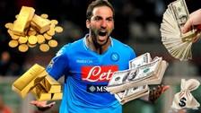Gonzalo Higuaín y los 10 fichajes más caros en la historia del fútbol