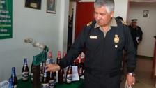 Juliaca: intervienen vivienda donde adulteraban cerveza de conocidas marcas