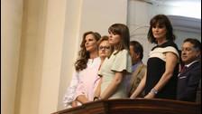 Fiestas Patrias: las hijas de PPK cautivan en la toma de mando