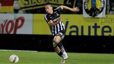 Cristian Benavente participó en la victoria del Sporting Charleroi en la liga belga
