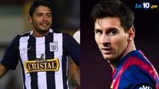 Lionel Messi: el día que Reimond Manco le ganó al jugador del Barcelona