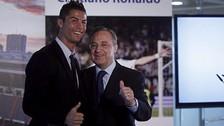 Cristiano Ronaldo renovaría su contrato con el Real Madrid