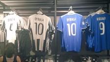 Juventus: en Francia venden camisetas de Dybala con el '10' de Pogba