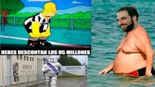 Gonzalo Higuaín es víctima de las burlas por su sobrepeso con el Juventus
