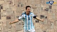 Lionel Messi: prensa argentina destacó su regreso a la Selección Argentina