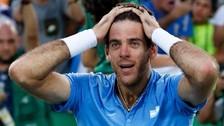 Río 2016: Del Potro venció a Rafael Nadal y lloró de emoción