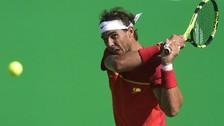 Río 2016: Rafael Nadal insultó al árbitro en su derrota ante Nishikori