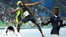 Twitter: Paul Pogba retó a Usain Bolt a carrera de 100 metros en moto