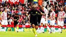 Manchester City derrotó 4-1 al Stoke City en la Premier League