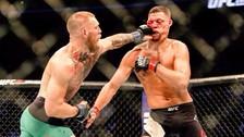 UFC: Conor McGregor derrotó a Nate Diaz y lo dejó ensangrentado