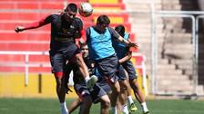 Selección Peruana: Diego Mayora marcó 3 goles en las prácticas