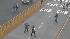 Pasajero agrede a trabajador del Metropolitano y le rompe la cabeza