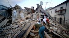 Las imágenes de los devastadores efectos del  terremoto en Italia