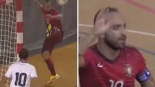 Video: los increíbles goles de Ricardinho en un partido de futsal