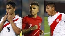 Selección Peruana: ¿Cuántos goles han anotado los delanteros de la Bicolor en 2016?