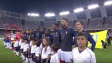Italia vs. Francia: Gianluigi Buffon tuvo un digno gesto con el himno de Francia