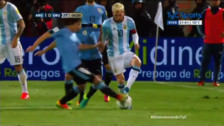 Messi deslumbró con una terrible 'huacha' en el Argentina vs. Uruguay