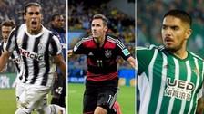 Juan Vargas: incluido en la lista de los mejores futbolistas sin equipo