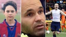 Andrés Iniesta contó lo difícil que fue jugar en el Barcelona