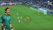 YouTube: Gianluigi Buffon recibió golazo en victoria de Italia 3-1 ante Israel