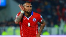 Arturo Vidal lució provocativo look en el Chile vs. Bolivia por Eliminatorias