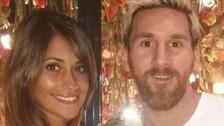 Messi aprovecha su descanso por lesión para disfrutar con Antonella Rocuzzo