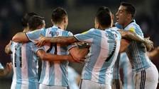 Argentina empató con Venezuela luego de ir perdiendo por dos goles