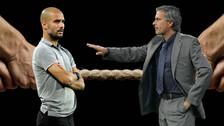 Las estadísticas de la rivalidad entre José Mourinho y Josep Guardiola