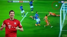 Robert Lewandowski falló gol en victoria del Bayern Munich 2-1 ante Schalke 04