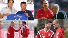 Claudio Pizarro: los futbolistas que fueron dirigidos por Guardiola y Mourinho