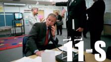 Fotos | Estas fueron las primeras reacciones de George W. Bush tras el 11-S