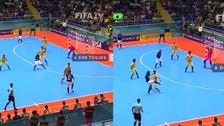 Video. Falcao hizo un golazo con Brasil en el Mundial de futsal