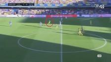 Un jugador del Villarreal anotó un golazo desde más de 50 metros
