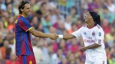 La broma de Ronaldinho que convenció a Ibrahimovic para fichar por el Milan