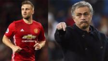 Mourinho culpó a Luke Shaw por las derrotas de Manchester United