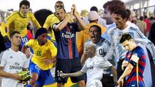 10 huachas de jugadores pocos conocidos a grandes estrella del fútbol