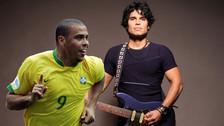 Video. El día que Ronaldo cantó junto a Pedro Suárez Vértiz