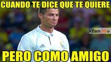 Cristiano Ronaldo es víctima de memes tras empate 2-2 entre Real Madrid y Las Palmas