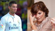 La mamá de Cristiano Ronaldo le mandó un mensaje tras haber sido sustituido
