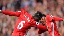 Paul Pogba anotó su primer gol con Manchester United
