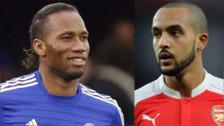 Drogba 'troleó' a Theo Walcott por celebrar la victoria del Arsenal