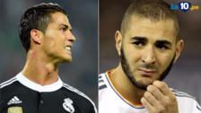 Cristiano Ronaldo sigue molesto y Benzema fue su nueva víctima
