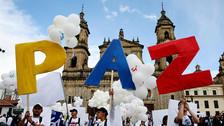 Las postales que deja el histórico acuerdo de paz en Colombia