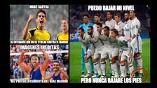 Real Madrid acapara memes tras empate ante Dortmund en Champions League